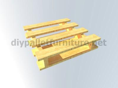 Plans et instructions pour fabriquer une chaise avec quatre palettes 9