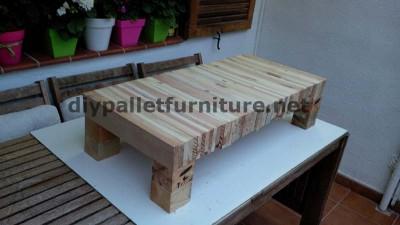 Tableau pour votre salon de planches de palettes démontées 3