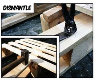6 étapes de base pour construire vos propres meubles avec des palettes 2