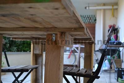 Comment faire facilement une table avec un Europallet 2