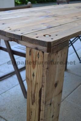Comment faire facilement une table avec un Europallet 4