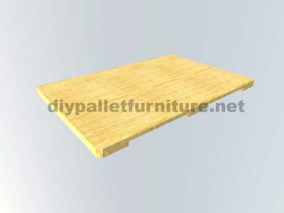 Comment faire facilement une table avec un Europallet 9