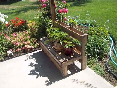 Comment faire un banc d'été pour le jardin 2