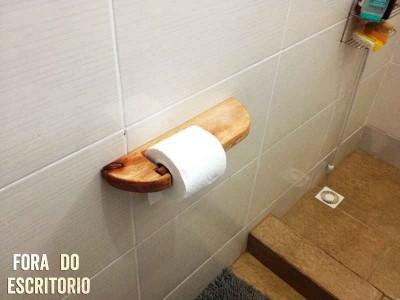Comment faire un support de papier toilette avec palettes  3