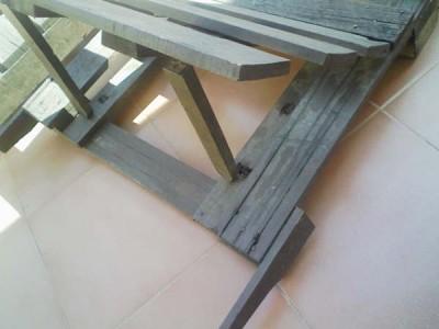 Comment faire une chaise longue avec des palettes, des dessins et des instructions 4