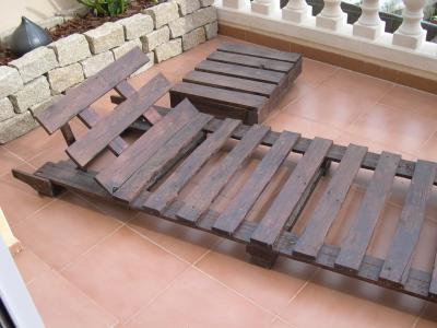 Comment faire une chaise longue avec des palettes, des dessins et des instructions