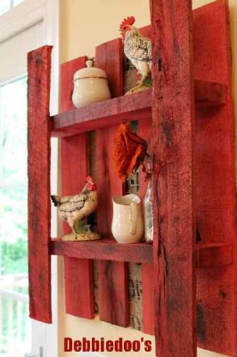 Construisez votre étagère avec une palette 5