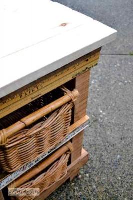 Construisez votre propre tiroir de deux niveaux de hight 2