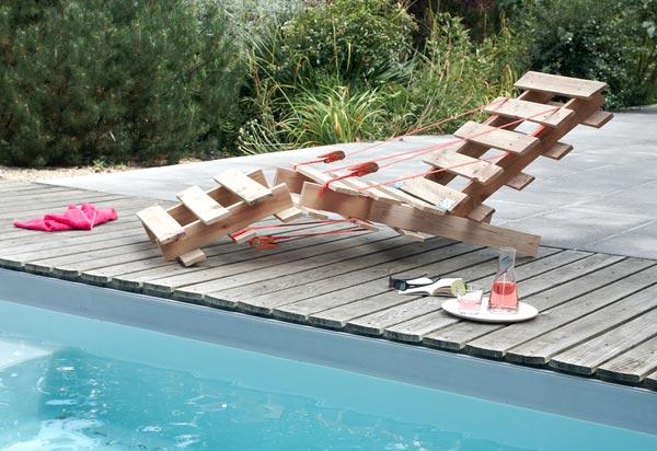 instructions sur la fa on de construire une chaise longue avec seulement 2 palettesmeuble en. Black Bedroom Furniture Sets. Home Design Ideas