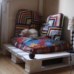 Petit coin où se relaxer ou pour votre animal de compagnie avec une palette !