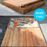 Des plans pour construire un bac à sable pour les enfants à base de palettes