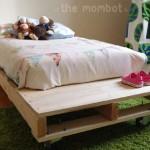 Construire un lit pour vos enfants avec des palettes
