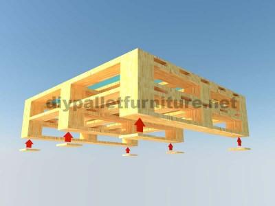 Instructions sur la façon de faire une table élégante avec des palettes 4