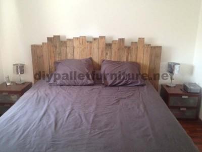 Instructions pour faire une tête de lit avec des palettes