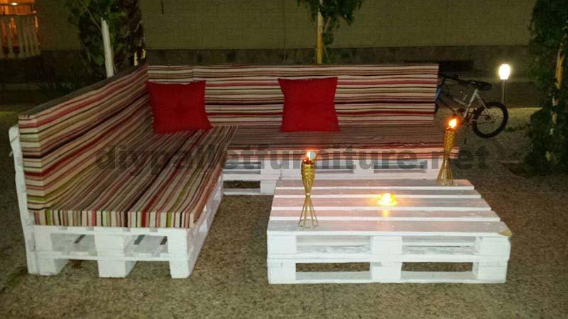 Awesome Salon De Jardin En Palette Angle Photos - House Design ...