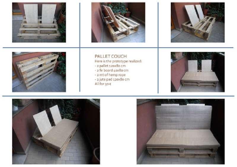 comment faire un canap avec des palettes en utilisant des points d appui seulementmeuble en. Black Bedroom Furniture Sets. Home Design Ideas