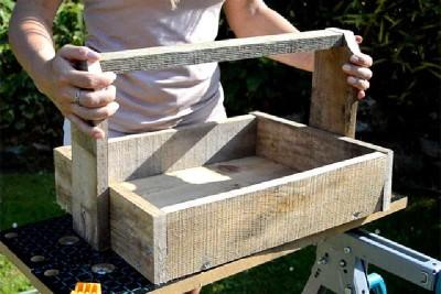 Construction de deux paniers avec une seule palette4
