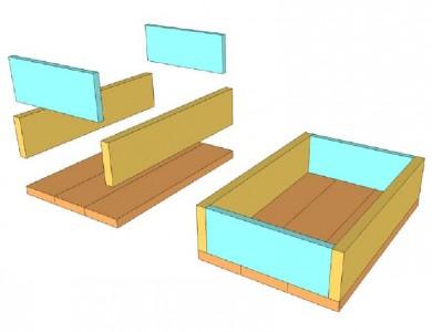 Construire et décorer une boîte de palette avec des timbres3