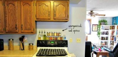 Construire un organisateur des espèces de palettes pour votre cuisine