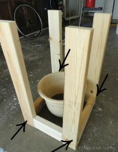 Construire un planteur mobile avec palettes 2