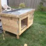 Costruire una conigliera con i pallet