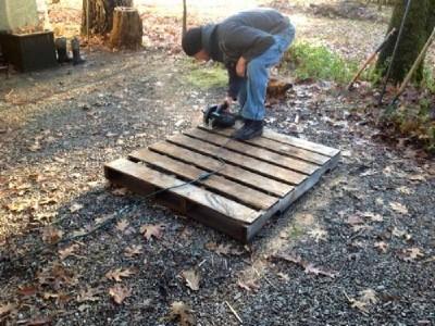 Costruire una conigliera con i pallet1