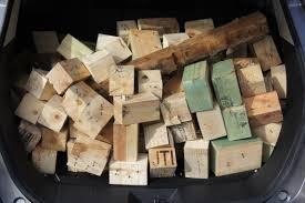 Faire du profit de vos palettes de blocs en bois!  1