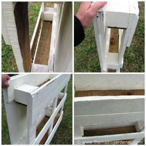 Instructions pour faire un cache-clôture avec des palettes pour votre jardin3