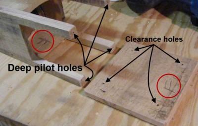 Instructions sur la façon de construire une lampe de jardin avec un bocal en verre et palettes3