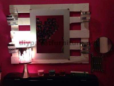 Table Dresser faite avec des palettes