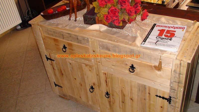 commode 6meuble en palette meuble en palette. Black Bedroom Furniture Sets. Home Design Ideas