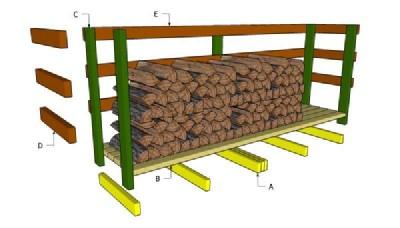 Construire une palette versé pour le bois