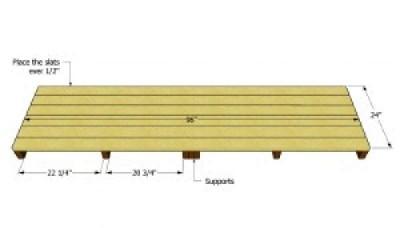 Construire une palette versé pour le bois2