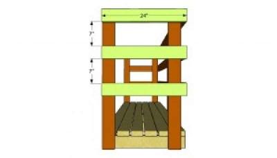 Construire une palette versé pour le bois4