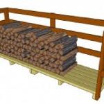Construire un hangar di pallet pour le bois