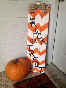 Idées de décoration pour Halloween avec palettes 6