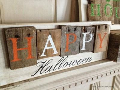 Idées de décoration pour Halloween avec palettes 7