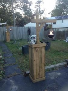Idées de décoration pour Halloween avec palettes 8