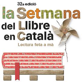 Kiosques et des structures faites de palettes pour la Setmana del Llibre en Català6