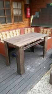 Les plans visant à faire une table avec palettes planches1