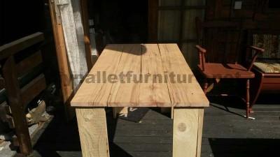 Les plans visant à faire une table avec palettes planches7