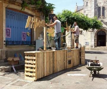 Les tavolozze du Coeur, una associazione francese di artisti pallet13