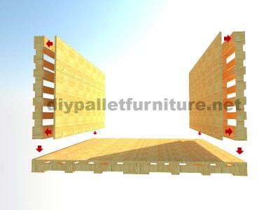 L'intérieur Maison chill-out ou jeux angle en palettes3