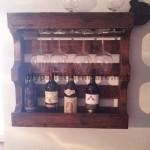 Porte-bouteilles pour la salle à manger