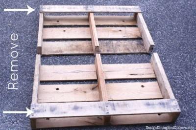 Étape par étape les instructions pour construire un tiroir de la palette modulaire4