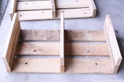 Étape par étape les instructions pour construire un tiroir de la palette modulaire8