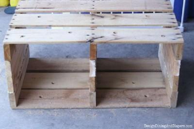 Étape par étape les instructions pour construire un tiroir de la palette modulaire9