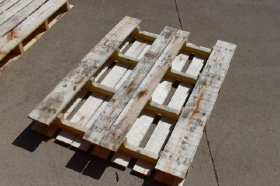 Étape par étape les instructions pour construire une étagère à chaussures utilisant des palettes2