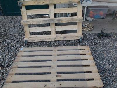 Étape par étape les instructions pour construire une table de salon avec palettes3