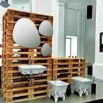 10 bonnes idées pour décorer votre salle de bains avec palettes